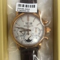 Patek Philippe Rose gold 40mm Manual winding 5204R-001 new