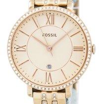 Fossil Gold/Stahl 36mm Quarz ES3546 neu