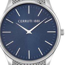 Cerruti Steel 42mm Quartz CRA26203 new