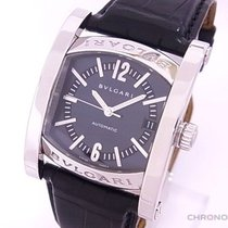 Bulgari Assioma Steel 44mm Grey Arabic numerals