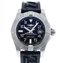 Breitling Avenger II Seawolf pre-owned 45mm Black Date Leather