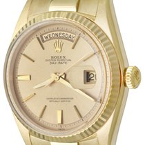 Rolex Day-Date 36 Yellow gold 35mm Champagne No numerals