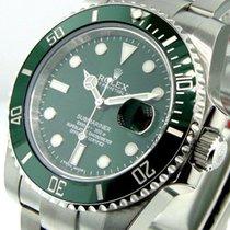 Rolex Submariner Date Stahl 40mm Grün