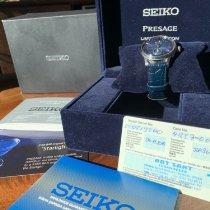 Seiko Presage Сталь 40.5mm Синий Без цифр