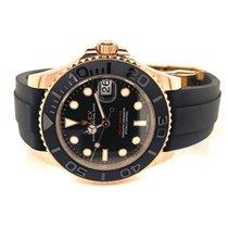 Rolex Yacht-Master 37 Rose gold 37mm Black No numerals United States of America, Michigan, Washington