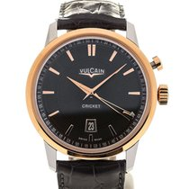 Vulcain 50s Presidents' Watch 42 Pink Gold Greystone