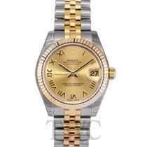 Rolex 178273 Oro amarillo Lady-Datejust 31mm nuevo