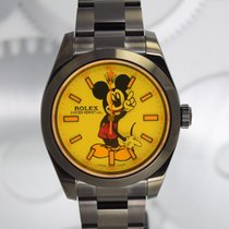 """Rolex Milgauss  """"Bloddy Mickey Mouse"""" by Montre Noire"""
