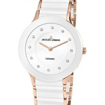Jacques Lemans High Tech Ceramic Dublin Steel 32mm White