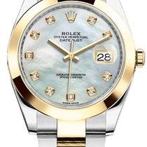 Rolex Datejust Or/Acier 41mm Nacre