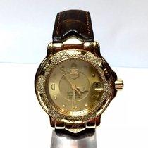 TAG Heuer Chronometer 18k Yellow Gold Men's Watch 200m...