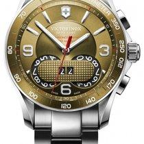 Victorinox Swiss Army Chronograph Quartz new Chrono Classic Bronze