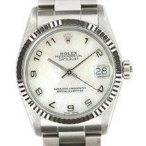 Rolex Medio datejust Madreperla SCAT/GAR art. Rm497br
