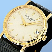 "Patek Philippe Gent's 18K Yellow Gold  Ref# 3802 ""Cala..."