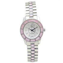 Dior christal cd112110 28 mm quartz acier diamants watch