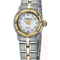 Raymond Weil Gold/Steel Parsifal 22mm new
