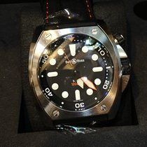 伯莱士 Bell & Ross 1000m Diver 45mm BR02-BL-PRO/SRU Automatic Watch