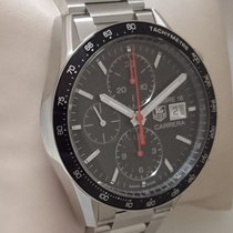 TAG Heuer Carrera Calibre 16, stainless steel, full set