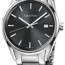 ck Calvin Klein Acier 43.5mm Quartz K4M21143 nouveau