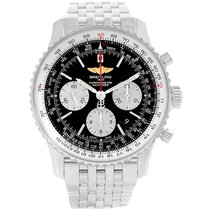 Breitling Steel Automatic Black 43mm pre-owned Navitimer 01 (46 MM)