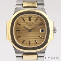 Patek Philippe Nautilus Gold/Steel 27mm No numerals