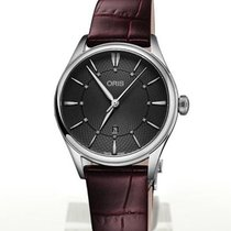 Oris Artelier Date Steel 33mm Grey