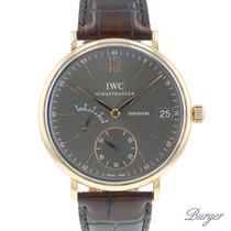 IWC Ouro rosa 45mm Corda manual IW510104 usado