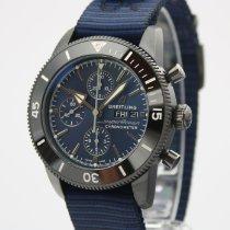 Breitling Superocean Héritage II Chronographe Stahl 44mm Blau Keine Ziffern Deutschland, Sulzfeld