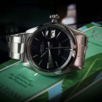 Rolex Oyster Perpetual Date Stahl 34mm Silber Keine Ziffern Deutschland, Saarbrücken