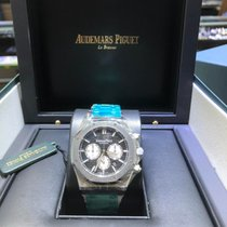 Audemars Piguet Royal Oak Chronograph Steel 41mm Black No numerals United States of America, Florida, MIAMI