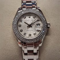 Rolex Pearlmaster Or blanc 29mm Argent