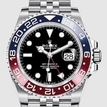 Rolex GMT-Master II Steel 40mm Black No numerals United States of America, New Jersey, Totowa