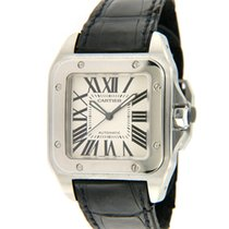 Cartier Santos 100 38mm White Roman numerals United States of America, Virginia, Vienna