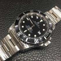 Rolex Sea-Dweller 4000 Steel 40mm Black No numerals