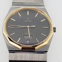 Concord Steel 32mm Quartz Gents, Concord Mariner SG, Stainless & 18KT, 15 58 115 v13 pre-owned