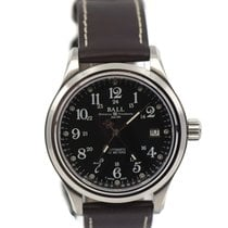 Ball Trainmaster Steel 38mm Black United States of America, New York, New York
