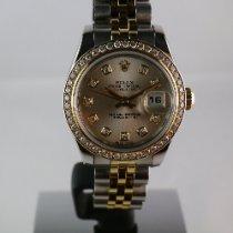 Rolex Lady-Datejust Or/Acier 26mm Gris Sans chiffres France, Marseille