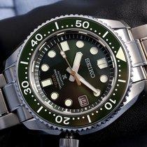 Seiko Marinemaster Steel Green No numerals