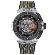 Hublot Big Bang Ferrari nuevo 2020 Automático Cronógrafo Reloj con estuche y documentos originales 402.JQ.0123.NR