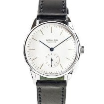 NOMOS Orion pre-owned 35mm Silver Leather