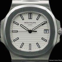 Patek Philippe Ref# 5711/1A-011, Nautilus, White Dial, NEW