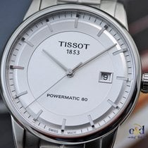 Tissot Luxury Powermatic 80 Silver Indexes Automatic Steel on...