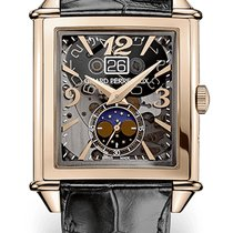 Girard Perregaux Vintage 1945 new Automatic Watch with original box and original papers 25882-52-222-BB6B Girard Perregaux Vintage Scheletrato Rosa