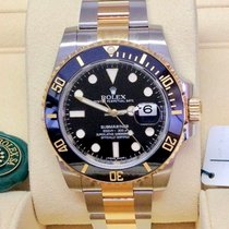 Rolex Submariner Date Black Dial  Steel/Gold ref. 116613LN