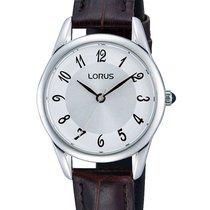 Lorus RRS97UX9 Damenuhr mit braunem Band 30M 28mm