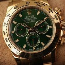 勞力士 (Rolex) NEW-全新 Cosmograph Daytona 116508 Green Dial YG Watch