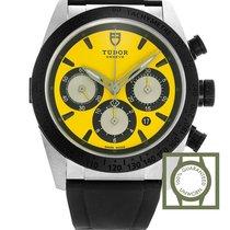 Tudor Fastrider Chrono Steel 42mm Yellow No numerals