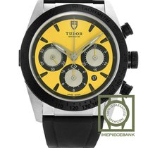 Tudor Fastrider Chrono Steel 42mm Yellow No numerals