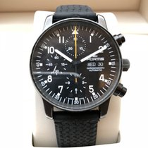Fortis - Pilot Flieger Day-Date Automatic Chronograph PVD -...