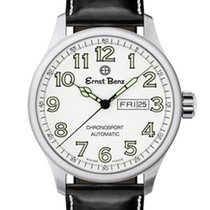 Ernst Benz Chronosport Traditional Swiss Automatic White Dial...